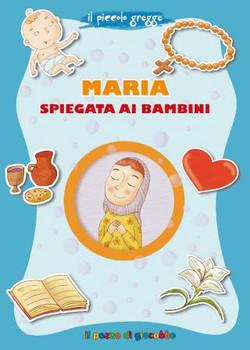 Maria spiegta ai bambini