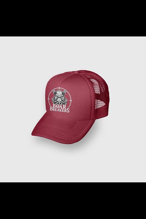 Maroon Boar Breakers Trucker cap