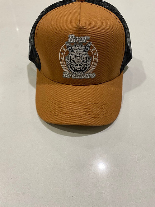 Tan boar breakers classic cap