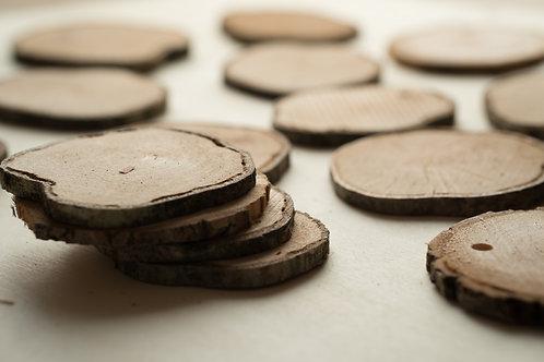 Dekoscheiben Holz