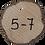 Thumbnail: Dekoscheiben Holz