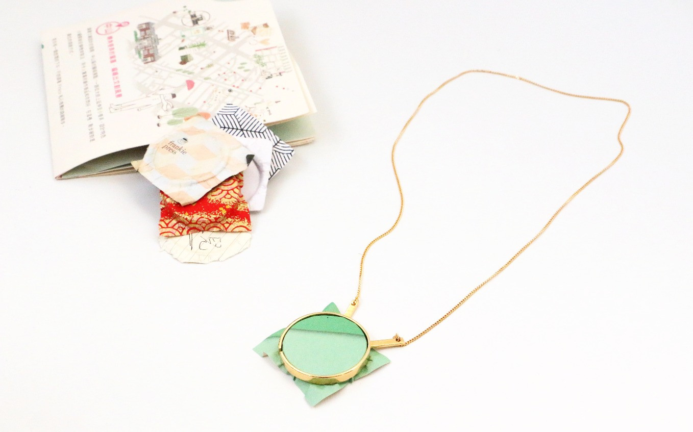 Paper-framing necklace4