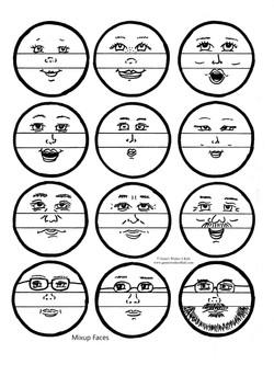 Mix-up Faces Mix & Match