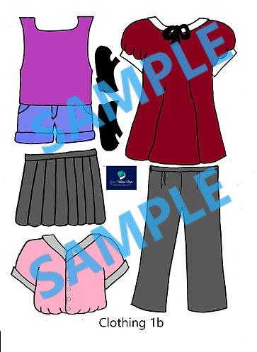 Add-on Clothing & Hair Set
