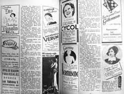 Publicidad en la revista Margarita (May.13,1937)