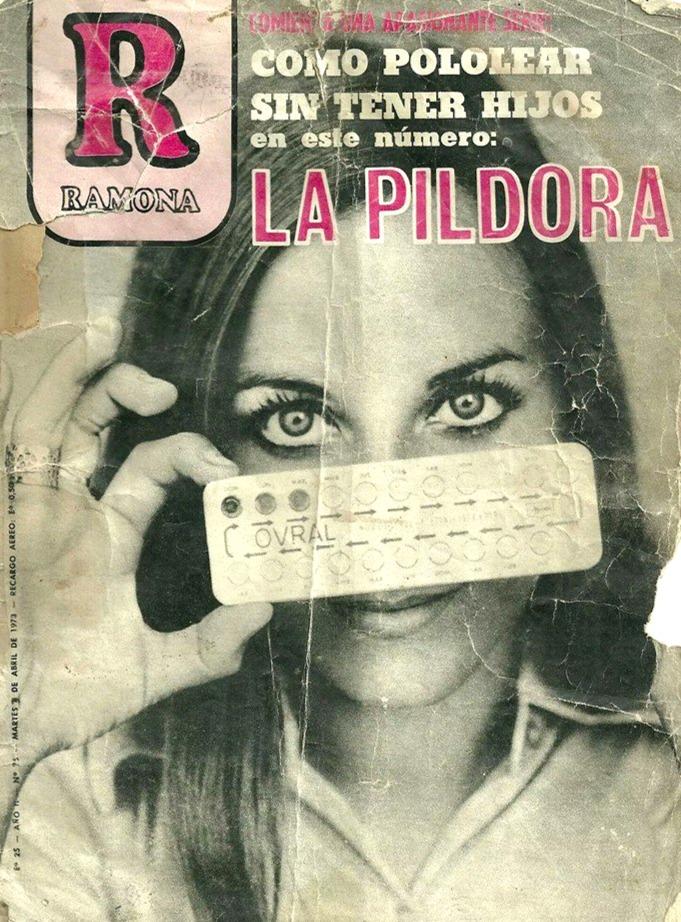 Portada Revista Ramona (Abr.03,1973)