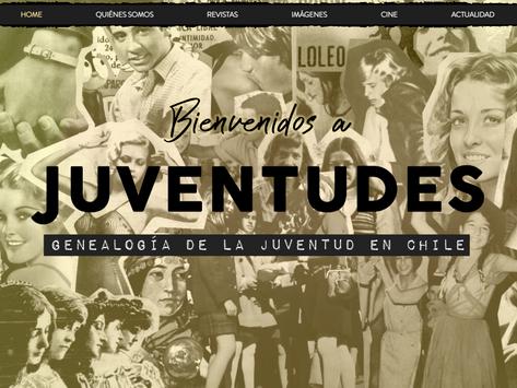 """Completo rediseño del sitio """"Juventudes"""""""