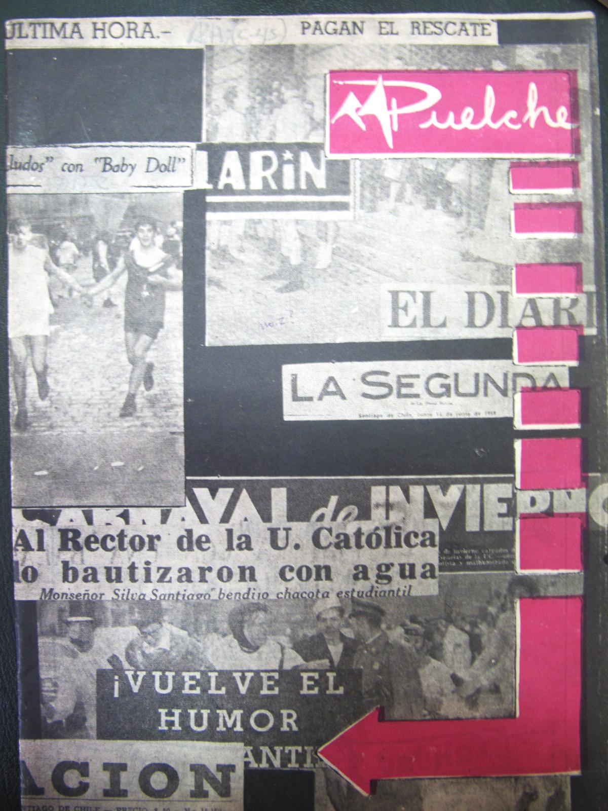 Portada Revista Puelche (Jul.1959)