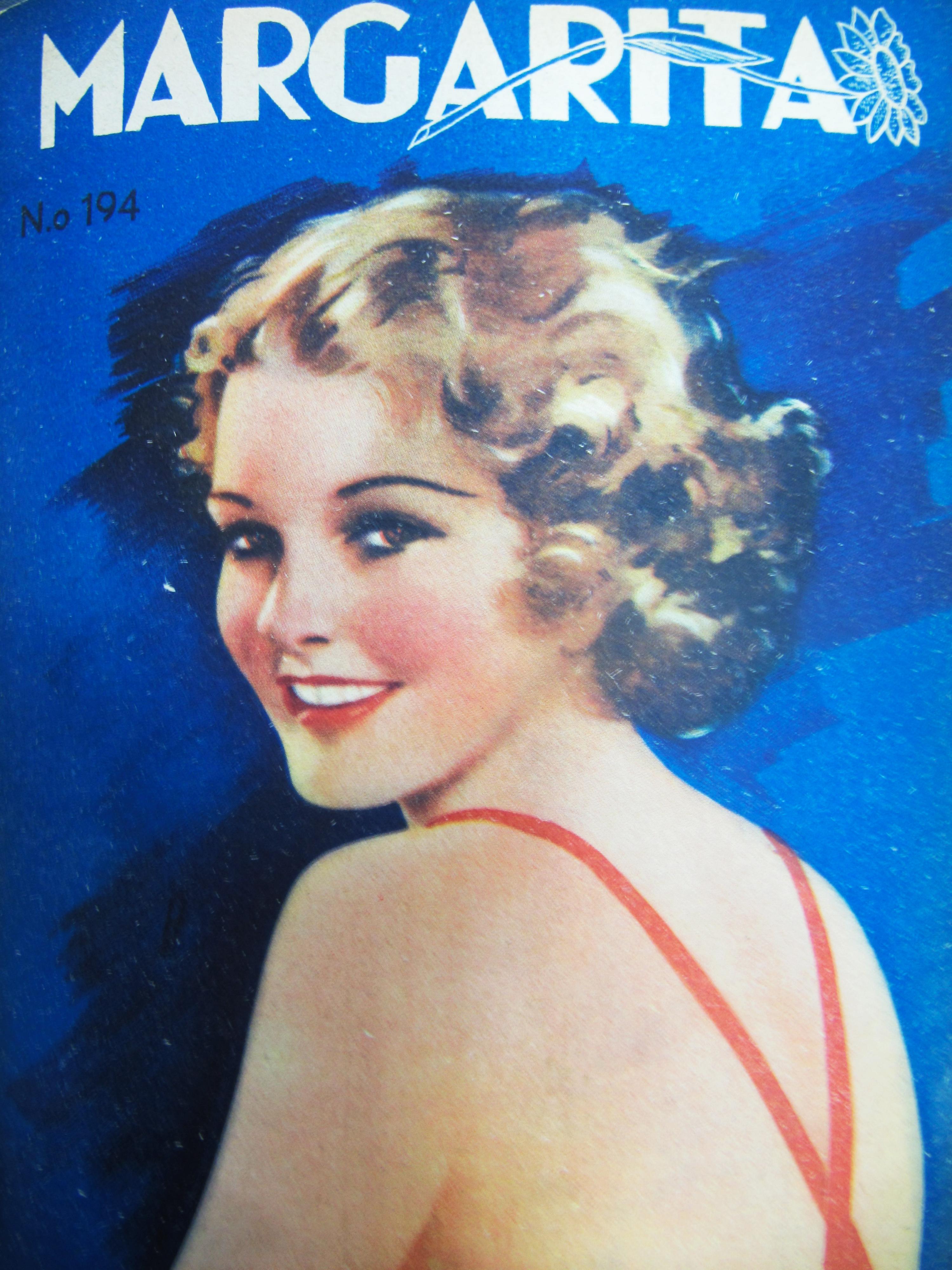 Portada Revista Margarita (Ene.12,1938)