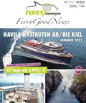 FERRY GOOD NEWS – No. 27 – Mai 2021