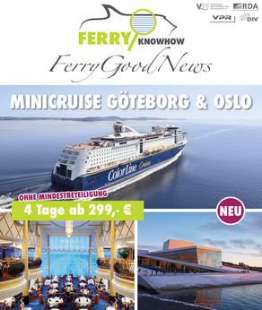 FERRY GOOD NEWS – No. 26 – Mai 2021