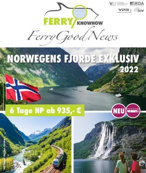FERRY GOOD NEWS – No. 34 – Juni 2021