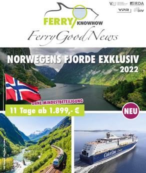 FERRY GOOD NEWS – No. 31 – Mai 2021