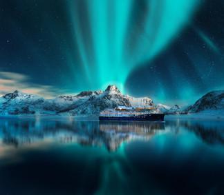 Lofoten Northern lights_copyright Havila