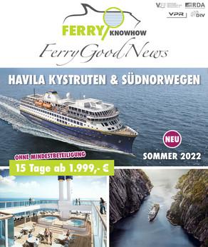 FERRY GOOD NEWS – No. 33 – Juni 2021