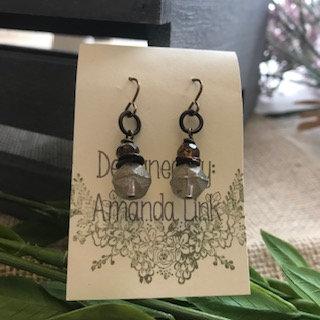 Amanda Link Earrings