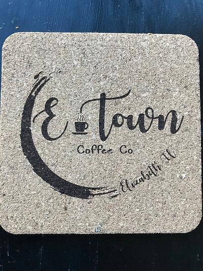 E-Town Logo Coaster