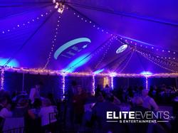 louisville wedding dj tent uplightin