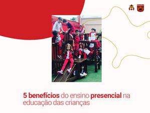 5 benefícios do ensino presencial na educação das crianças