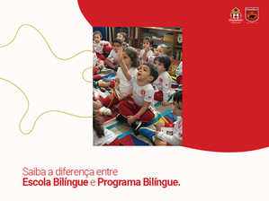 Escola Bilíngue ou Programa Bilíngue? Entenda a diferença!