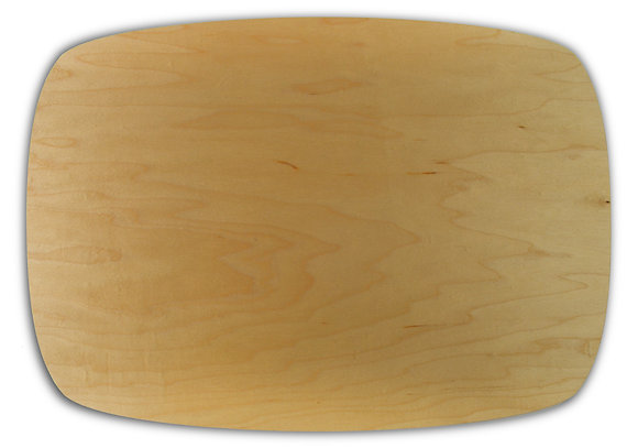 single species placemats: maple, set of four