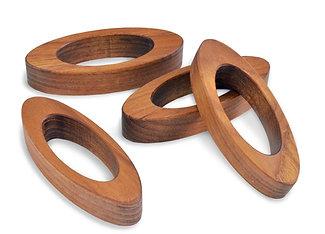 ellipse napkin rings