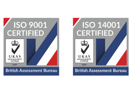 Jomas Associates Awarded BS9001 and BS14001 Accreditation
