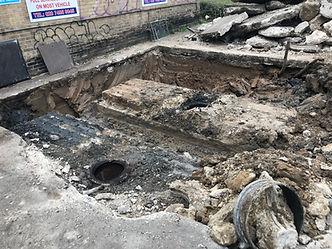Petrol tank - site remediation.JPG
