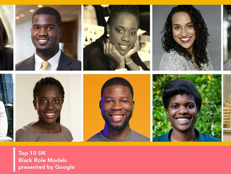 INvolve reveal the inaugural 2021 Top Ten Executive Black Role Models in the UK, presented by Google