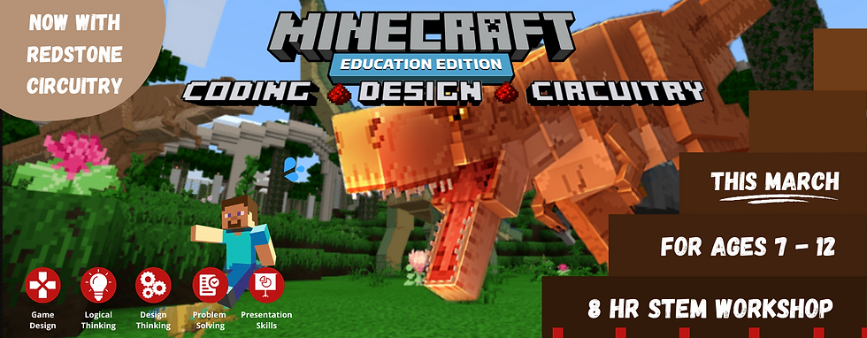 Minecraft March Holiday Banner Resized (