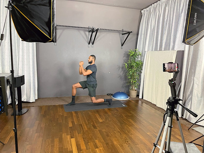 Online Workout Youtube HIIT Session