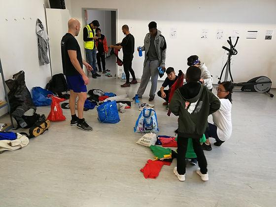 Das Traiing Innsbruck Integration Training Flüchtlingsquartier