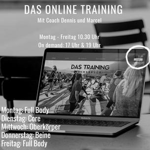 Das Online Training