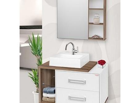 Novos Gabinetes para banheiro Fabribam