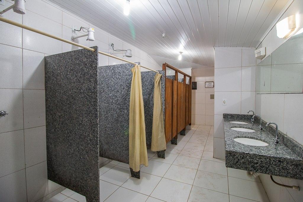 Banheiros e chuveiros - Masculino