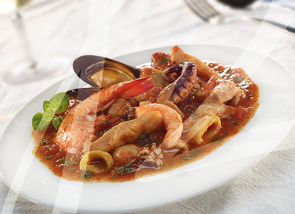 Zuppa di pesce monoporzione - 6 pz.