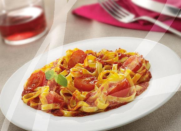 Fettuccine al pomodoro fresco monoporzione - 4 pz.