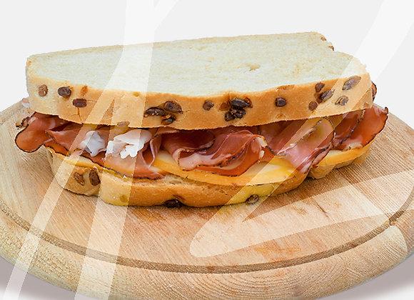 Toast rustico speck pronto - 6 pz.