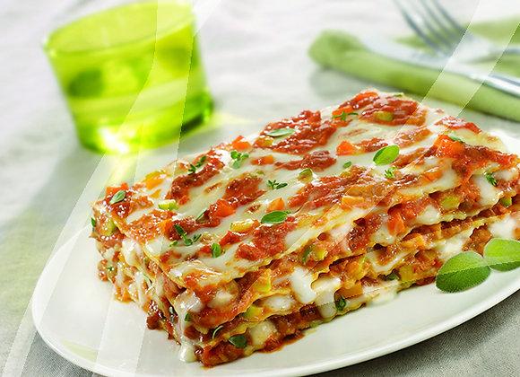 Lasagne al ragu' vegetale BIO monoporzione - 6 pz.