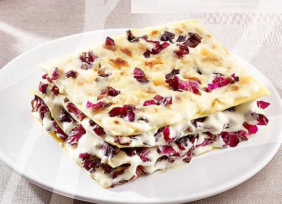 Lasagne al radicchio e scamorza monoporzione - 6 pz.