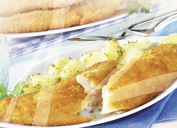 Filetto di merluzzo impanato monoporzione - 4 pz.