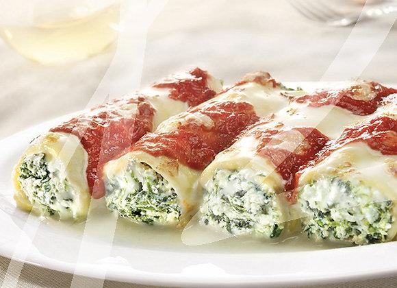 Cannelloni ricotta e spinaci BIO monoporzione - 6 pz.