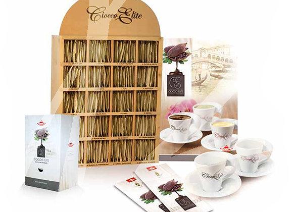 Kit promozione 700 bustine di cioccolata gusti assortiti