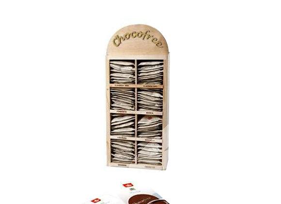 Kit di prova 80 bustine monodose assortite di cioccolata senza zuccheri