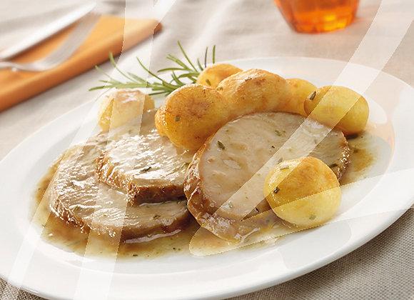 Arrosto con patate monoporzione - 4 pz.