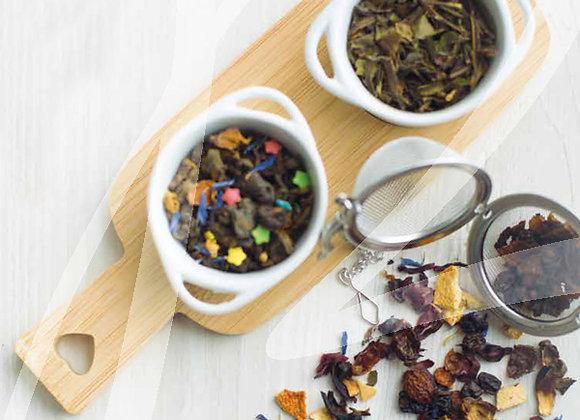 Kit promozione 16 buste da 500 gr. di tè infusi in foglia assortiti