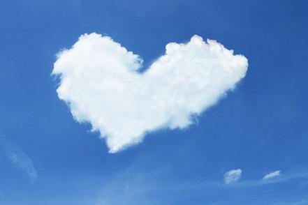 Cloud, Donate, Heart