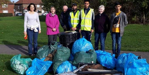 Moreton Green Litter Pick