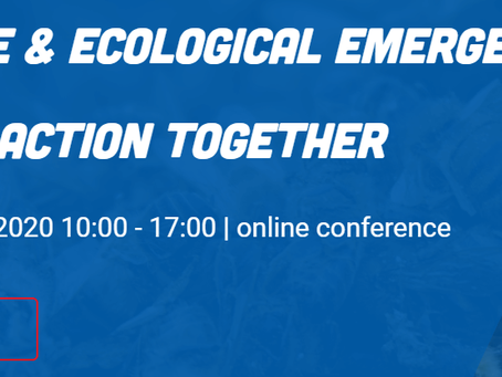 Climate & Ecological Emergency: Taking Action Together (online conference)