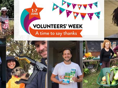 Community Champions Update: Celebrating #VolunteersWeek 2021